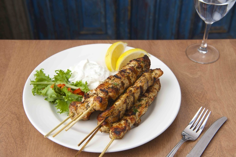 Mezes Chicken Souvlaki
