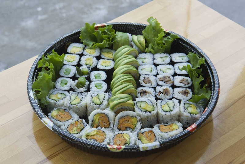 Assorted Veggie Maki by GTA Sushi Catering