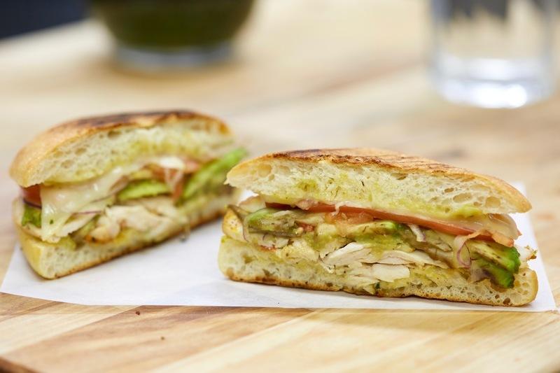 Guacamole Chicken Panini by Nook