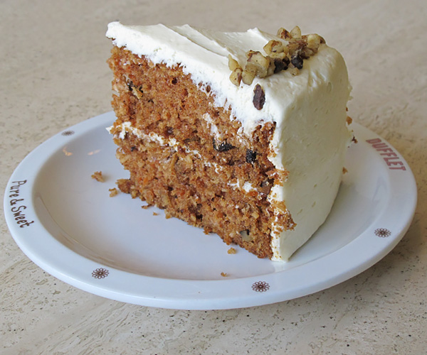 Classic Carrot Cake by Dufflet